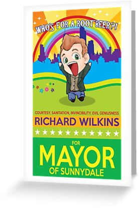 Richard Wilkins for Mayor by ElocinMuse