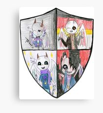 Zoozoo's Crest Canvas Print