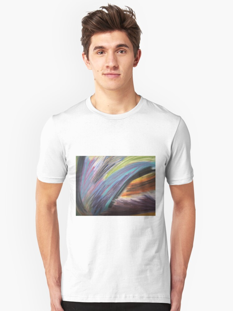 Tiger In The Mist Unisex T-Shirt Front