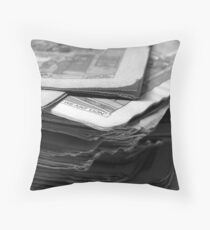 Beano there, done that! Throw Pillow