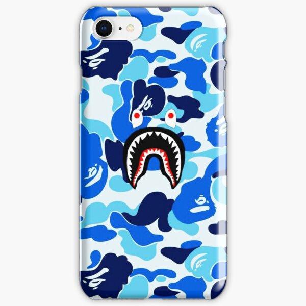 Blue Bape Shark iPhone Snap Case