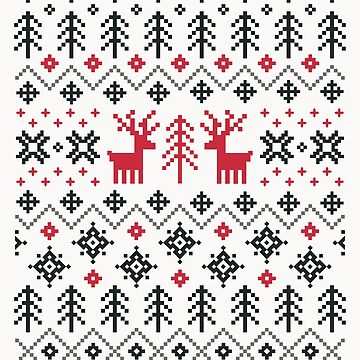 Holiday Sweater Pattern by daisy-beatrice