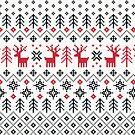 Feiertagsstrickmuster-Muster von daisy-beatrice