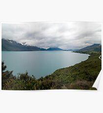 Lake Wakatipu, Queenstown NZ Poster