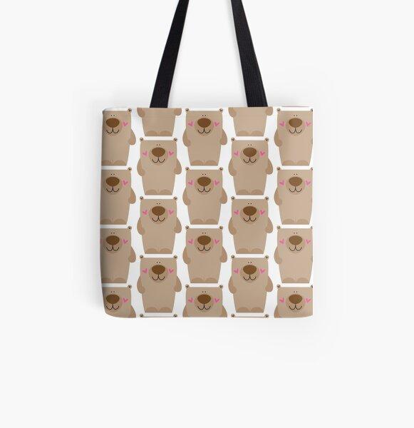 Big Bear All Over Print Tote Bag