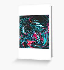 Abstract Paint Mix 26 Greeting Card
