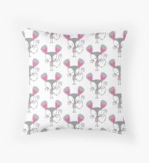 Little Mouse Throw Pillow
