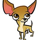 Chihuahua Caricature by binarygod