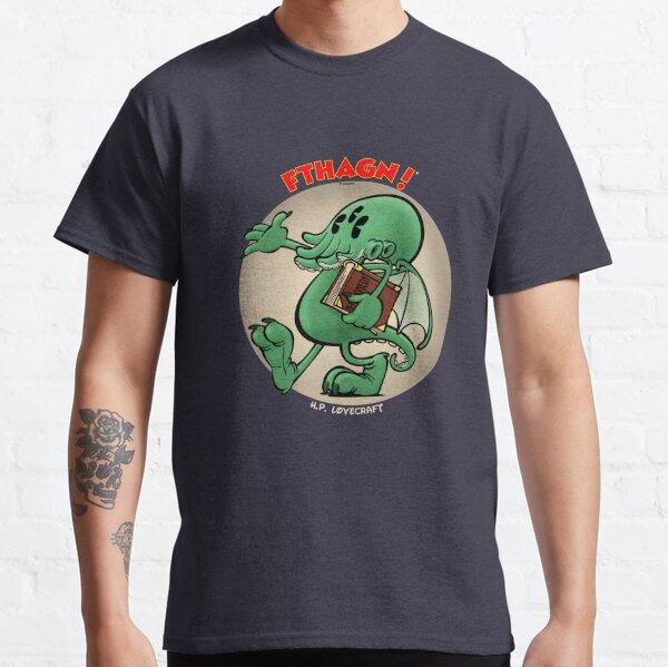 Vintage cartoon Cthulhu - color Classic T-Shirt