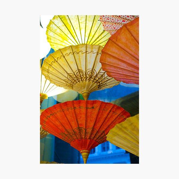Parasol Lamps Photographic Print