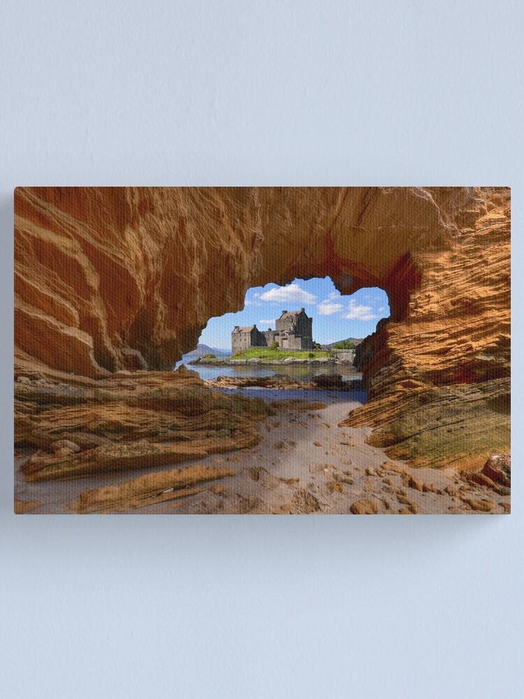 Alternate view of Castle View Canvas Print