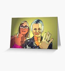 Mum n I Greeting Card