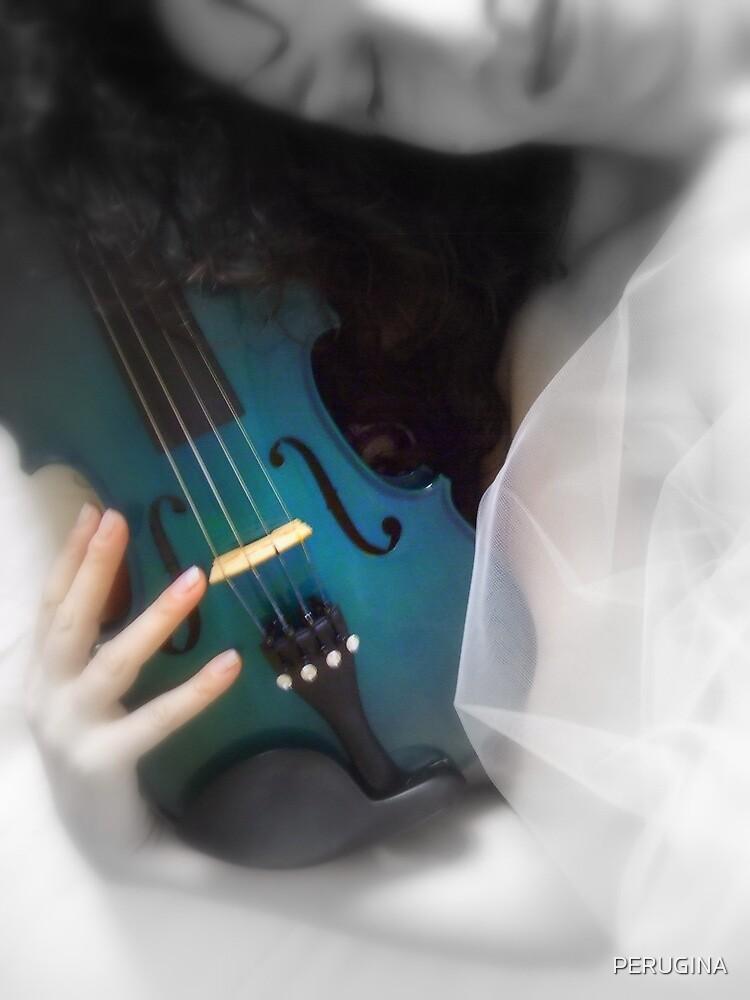 la donna con il violino blu © 2010 patricia vannucci by PERUGINA
