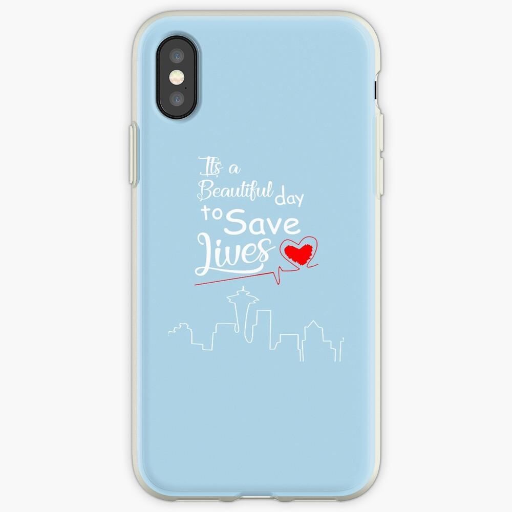 Es ist ein schöner Tag, um Leben zu retten iPhone-Hülle & Cover