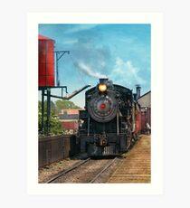 Train - Strasburg Number 9 Art Print