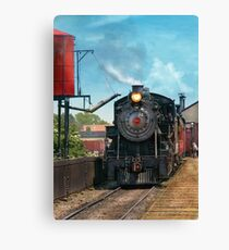 Train - Strasburg Number 9 Canvas Print