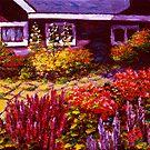Purple House & Garden by sesillie