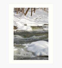 Cold Rush Art Print