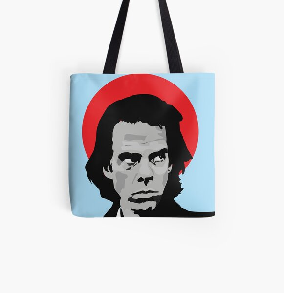 NICK cave - red japan All Over Print Tote Bag