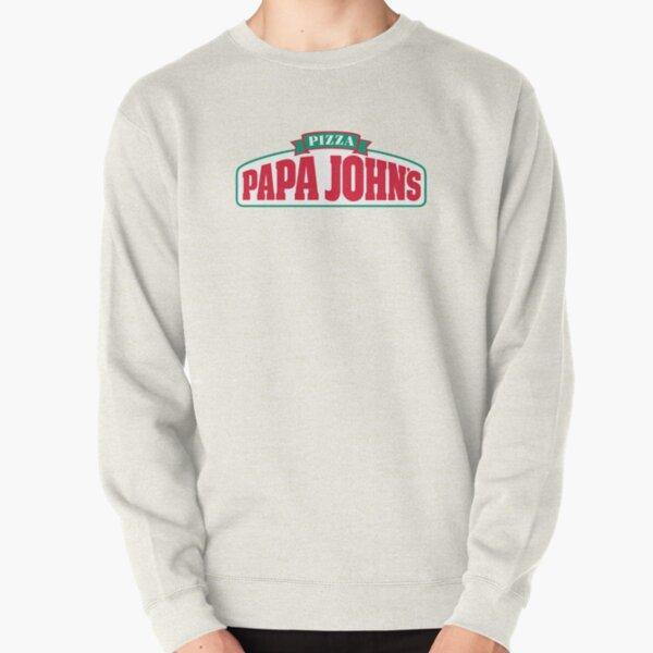 Papa Johns logo  Pullover Sweatshirt