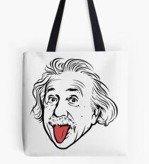 Bolsa de tela Ilustraciones de Albert Einstein Con su famosa foto que muestra la lengua, camisetas, impresiones, pósters, bolsos