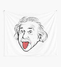 Tela decorativa Ilustraciones de Albert Einstein Con su famosa foto que muestra la lengua, camisetas, impresiones, pósters, bolsos