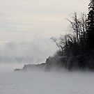Fog Over Lake Superior by cjbenck