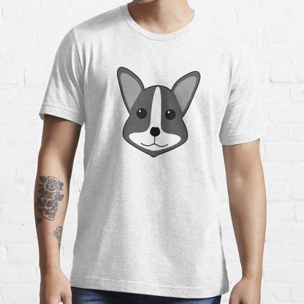 Mono Welsh Corgi Essential T-Shirt