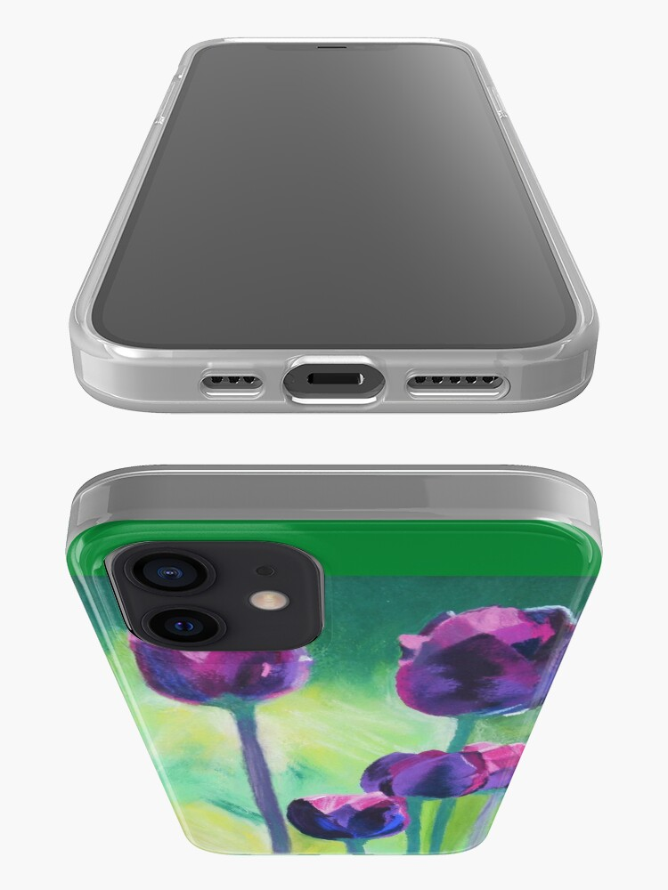 Alternate view of Tulips Aglow iPhone Case & Cover
