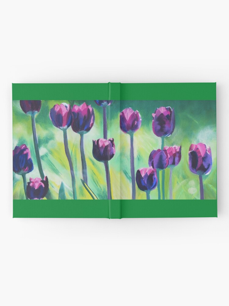 Alternate view of Tulips Aglow Hardcover Journal