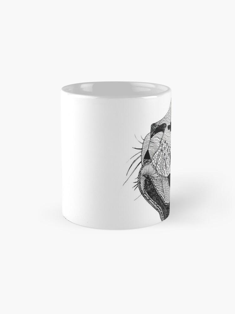 Alternate view of Zentangle Cat Mug