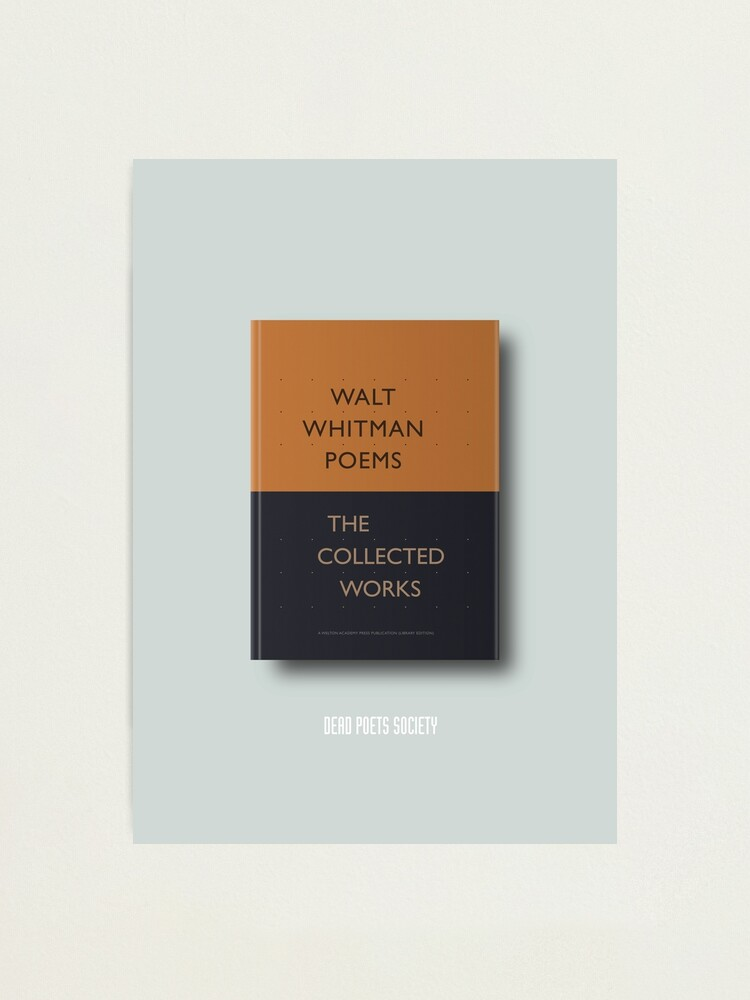 Alternate view of Dead Poets Society - Alternative Movie Poster Photographic Print