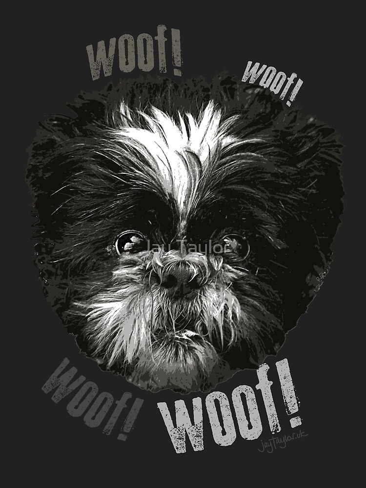 Shih-Tzu Says Woof! Woof! by Jay Taylor