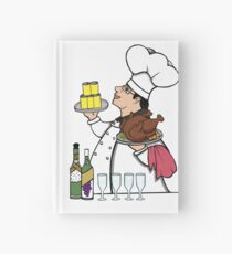 Never Trust a Skinny Cook,  Hardcover Journal