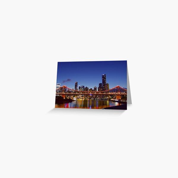 Story Bridge in Brisbane Greeting Card