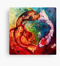 Within the Circle Canvas Print