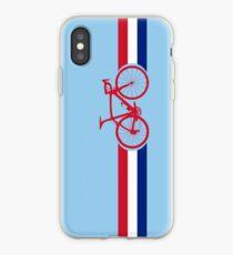 Bike Stripes British National Road Race iPhone Case