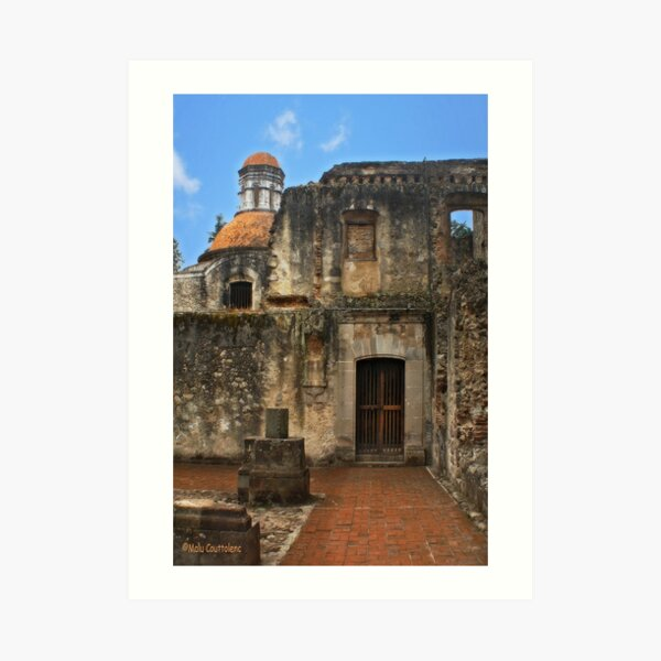 Colonial Style Old Convent Art Print