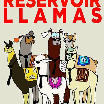 Reservoir Llamas  by emmafifield