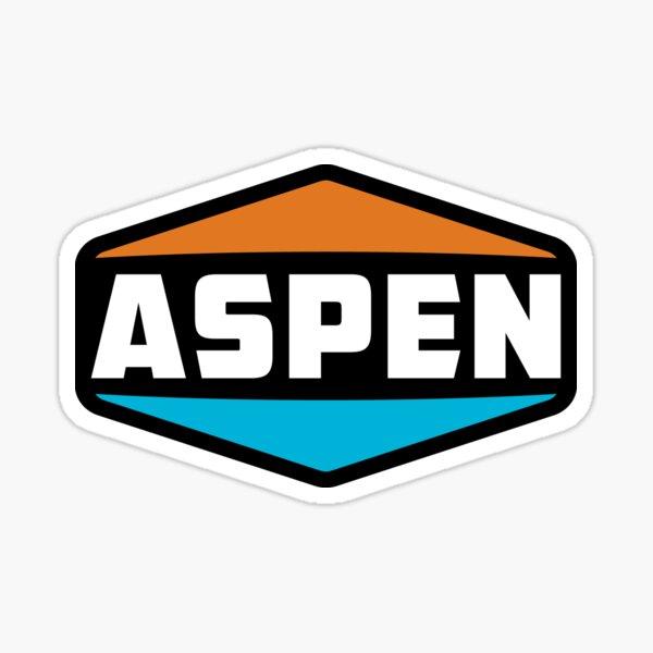 Ski Aspen Colorado Skiing Sticker