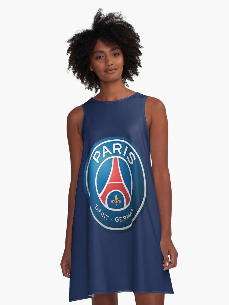 Paris Saint Germain Football Club A Line Dress By Berkilauin Redbubble