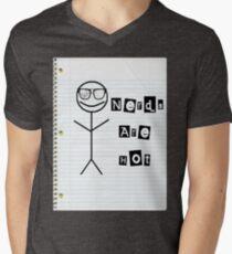 Nerds Are Hot Men's V-Neck T-Shirt