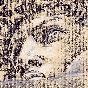 Head of David by BarnabyEdwards