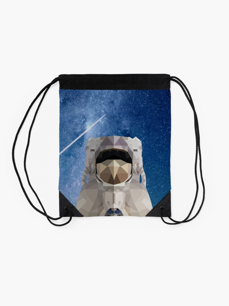 Alternate view of Space Astronaut Drawstring Bag