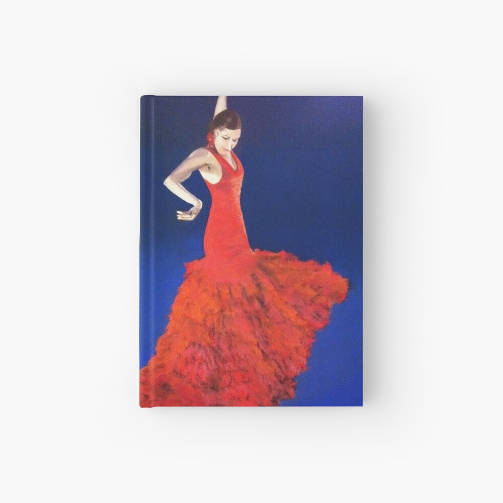 Dramatic Dance Hardcover Journal
