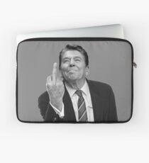 Funda para portátil Dedo medio de Ronald Reagan
