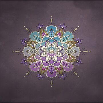 Wonderful mandala design by nicky2342