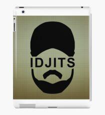 Idjits iPad Case/Skin