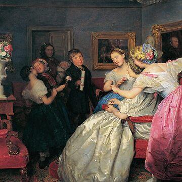 Poor wishers-Ferdinand Georg Waldmüller by LexBauer