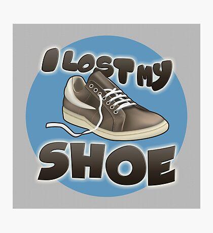 I Lost My Shoe Photographic Print